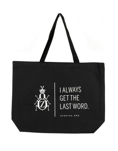ZYZZYVA tote bag in black