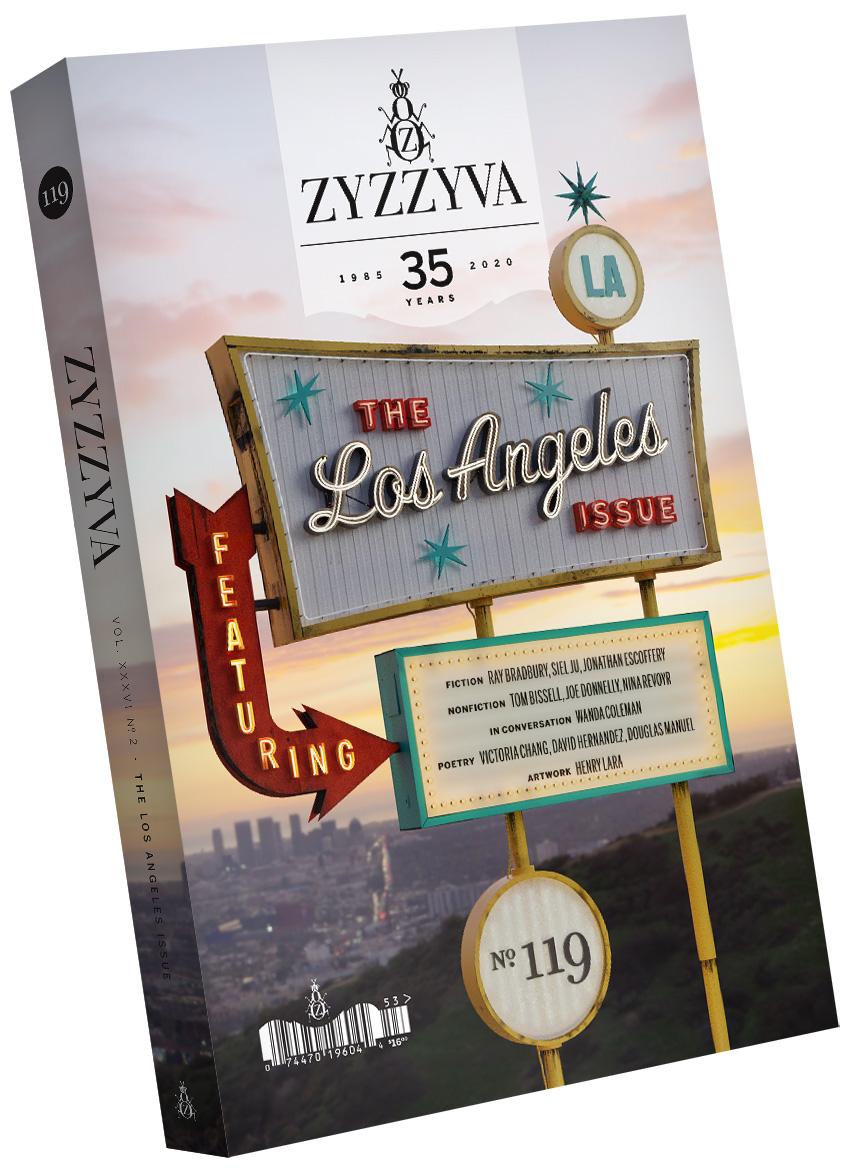 ZYZZYVA Volume 36, #2, Fall–Winter 2020 (No. 119) - Day Version