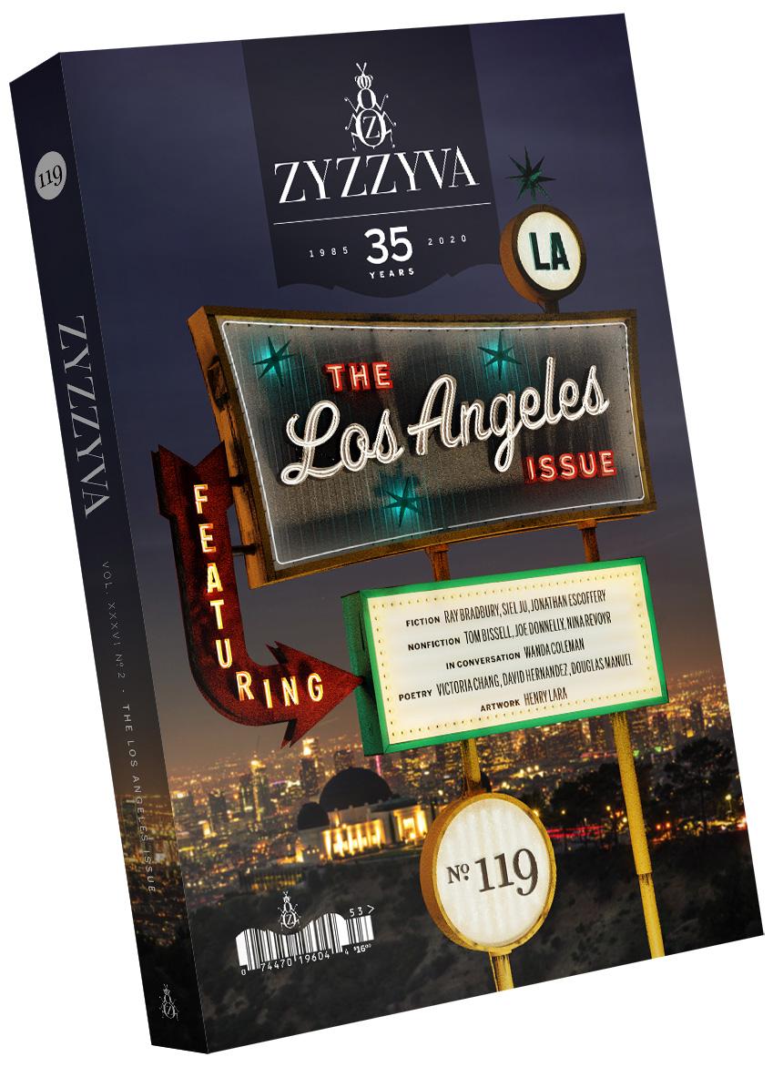 ZYZZYVA Volume 36, #2, Fall–Winter 2020 (No. 119) - Night Version