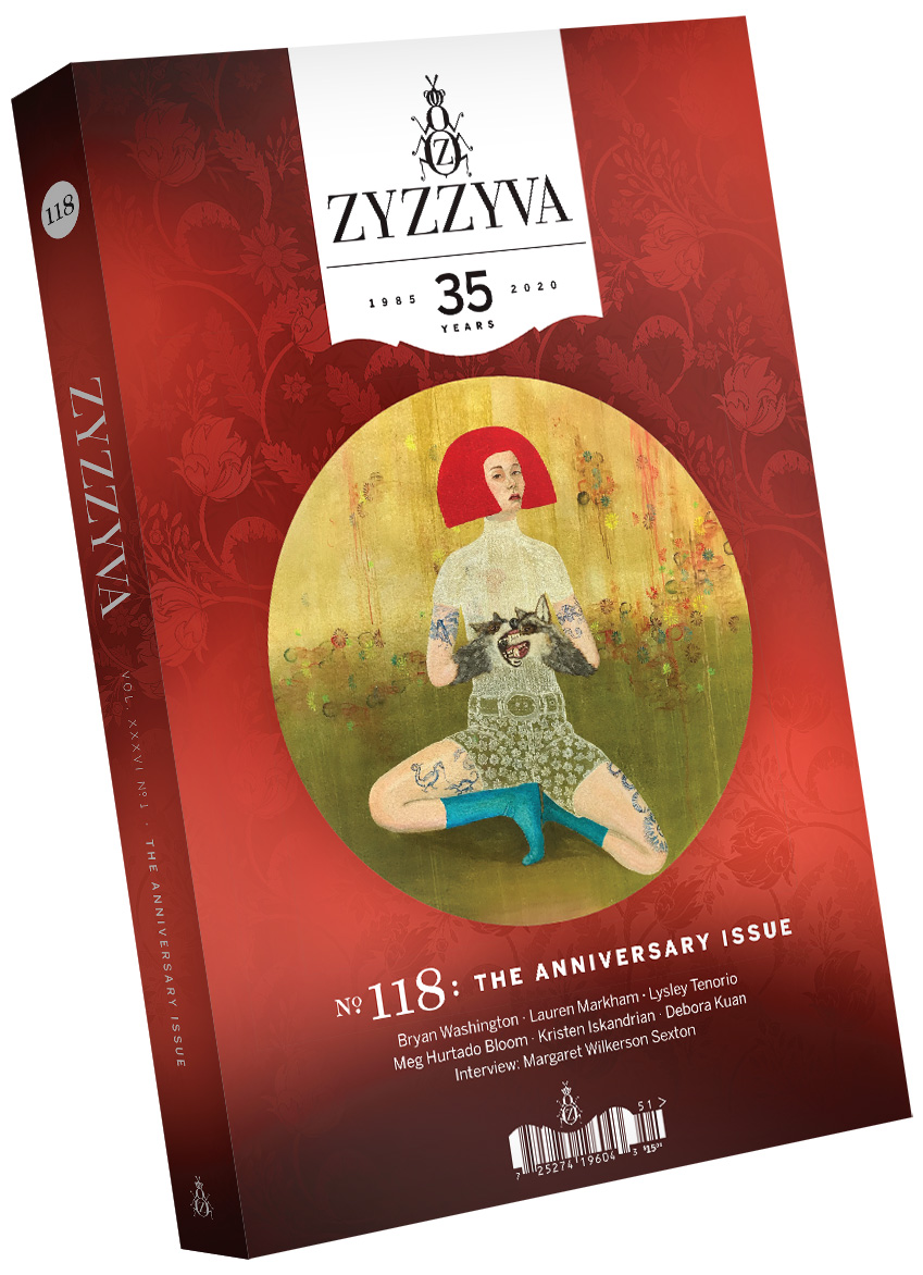 ZYZZYVA Volume 36, #1, Spring 2020 (No. 118)