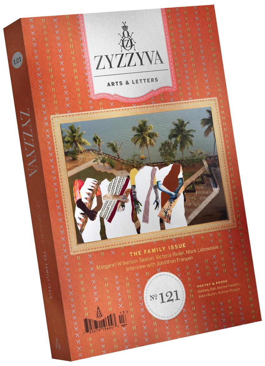 ZYZZYVA Volume 37, #2, Fall 2021 (No. 121)