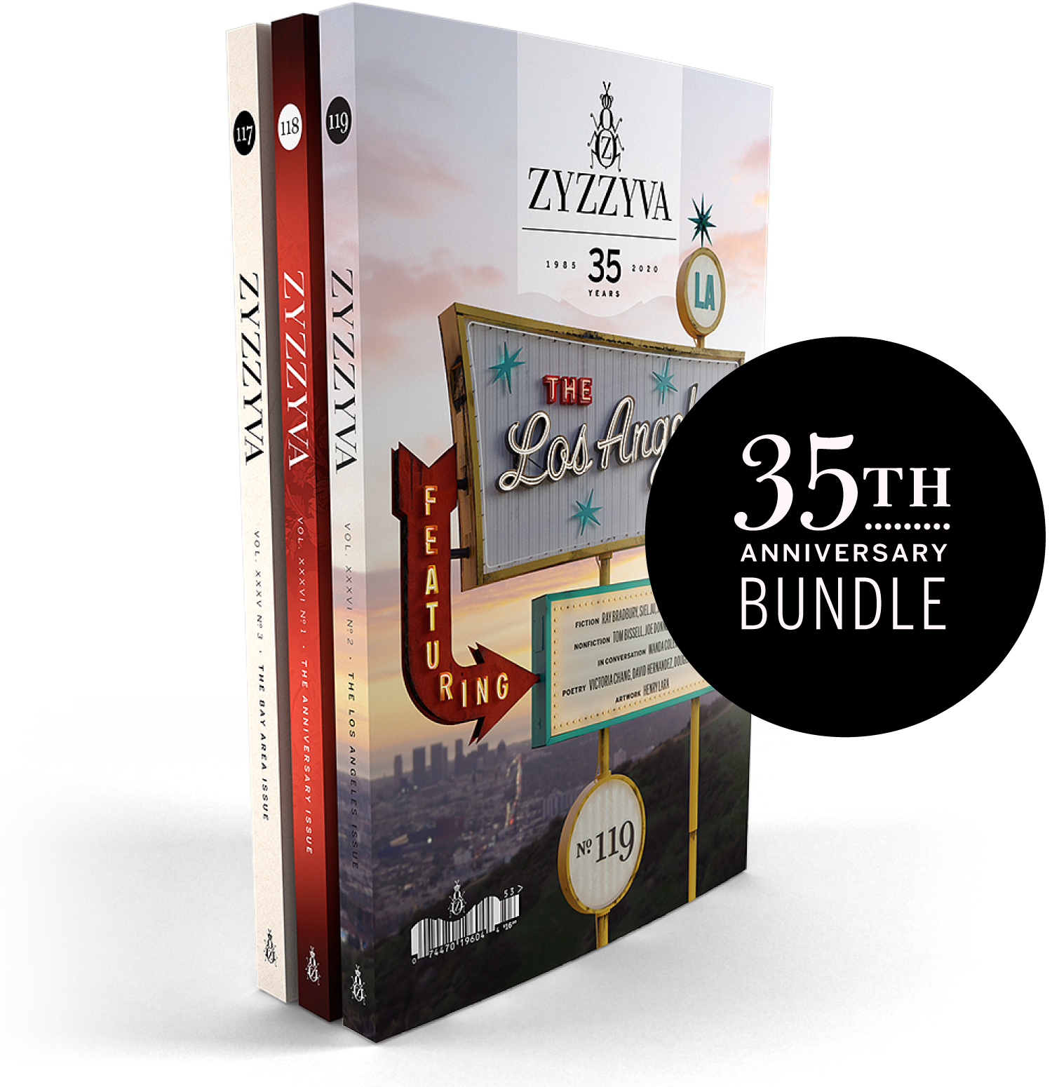 ZYZZYVA 35th Anniversary Bundle