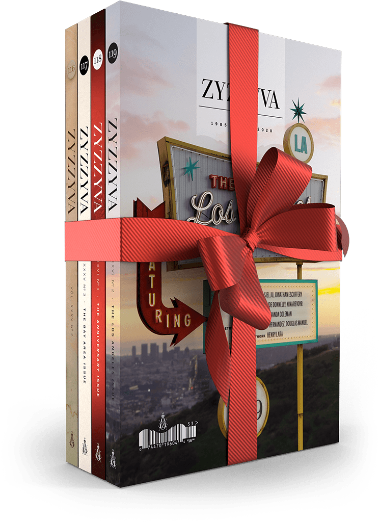 ZYZZYVA Gift Subscription