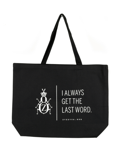 ZYZZYVA tote bag in black