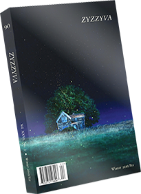 <p>ZYZZYVA 90 is the landmark final issue from Founding Editor Howard Junker. With stunning art from Michael Gregory, Claire Rojas, Lindsey White, and Josh Todarello; poetry by rising talents m.g.martin and Strawberry Saroyan; Willy Lazaraga&#8217;s musical, lilting tale of love and madness in the Mission; and an array of stories by first time in print authors, this collectible edition is not to be missed.</p>