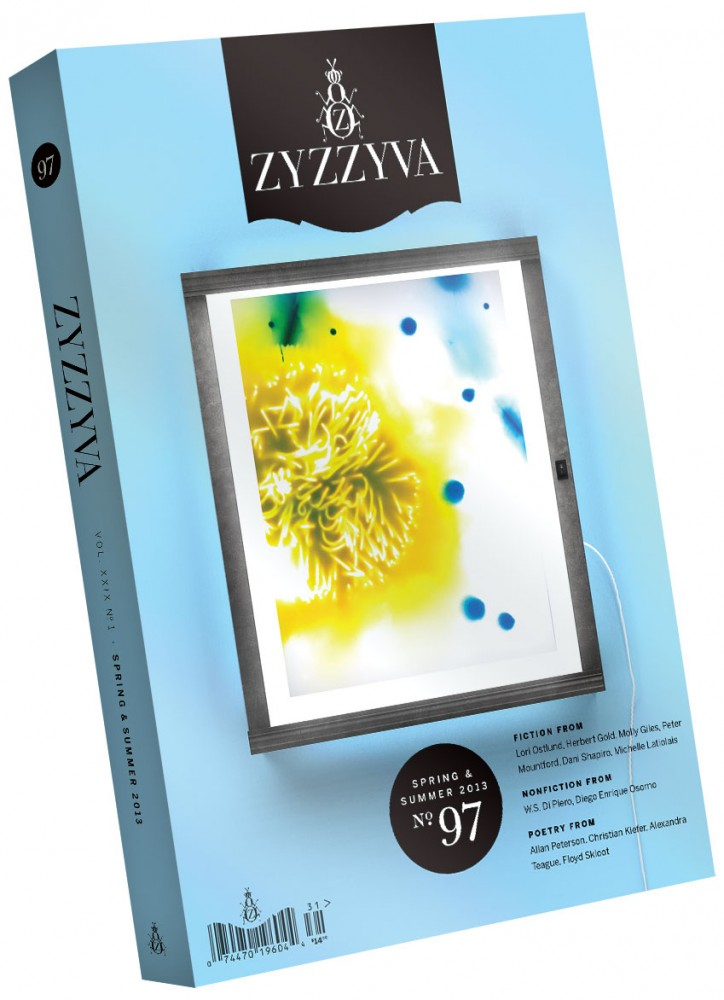 ZYZZYVA Volume 29, #1, Spring 2013