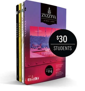 ZYZZYVA Student Subscription