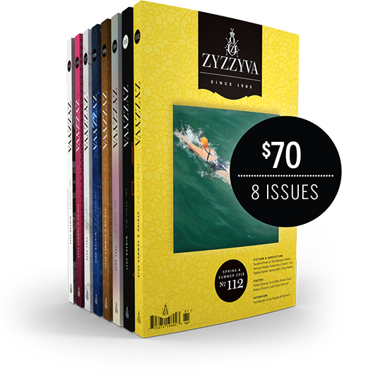 ZYZZYVA 8-Issue Subscription