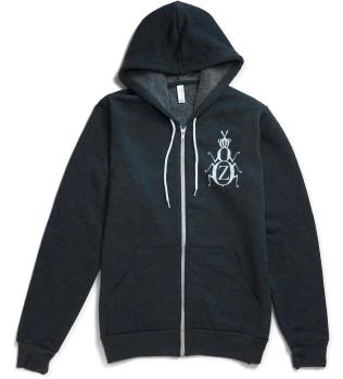 ZYZZYVA Zip Hoodie - Hooded Sweatshirt