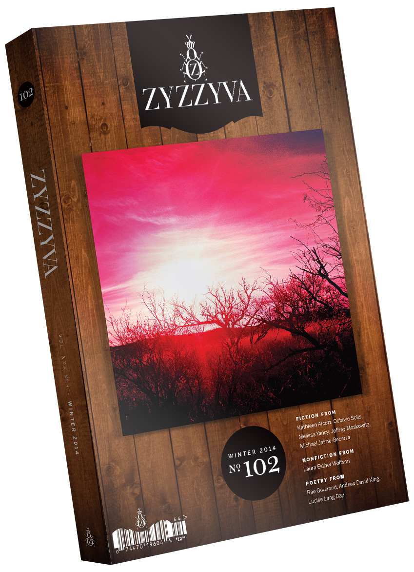 ZYZZYVA Volume 30, #3, Winter 2014
