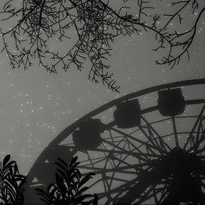 """Landscape #9"" (archival pigment print from photogram negative)"