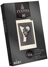 ZYZZYVA Volume 31, #2, Fall 2015