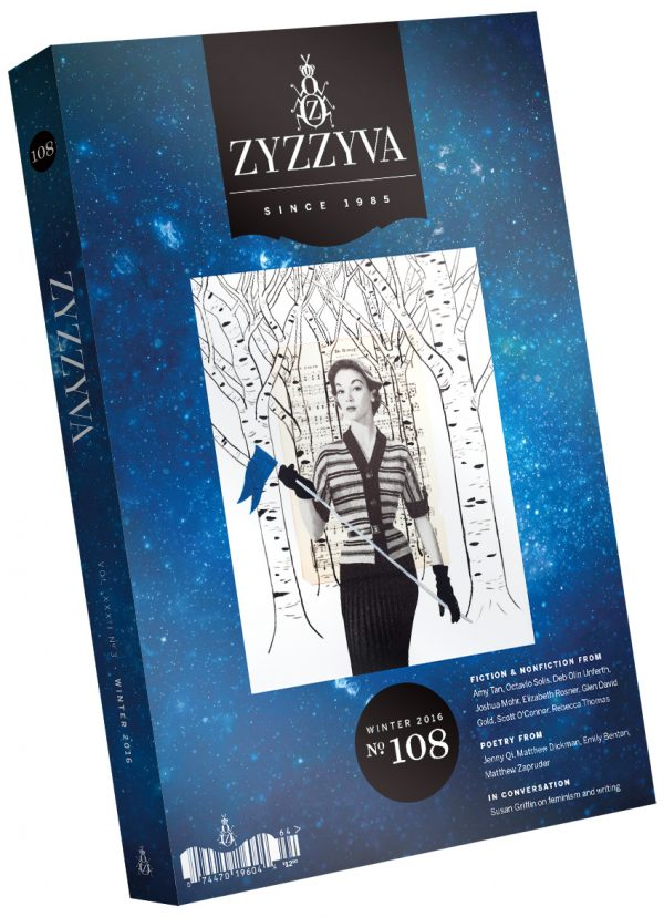 ZYZZYVA Volume 32, #3, Winter 2016
