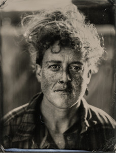 "eulalea, emeryville, 2017 (wet plate collodion tintype, from Jenny Sampson's ""skater"" series"