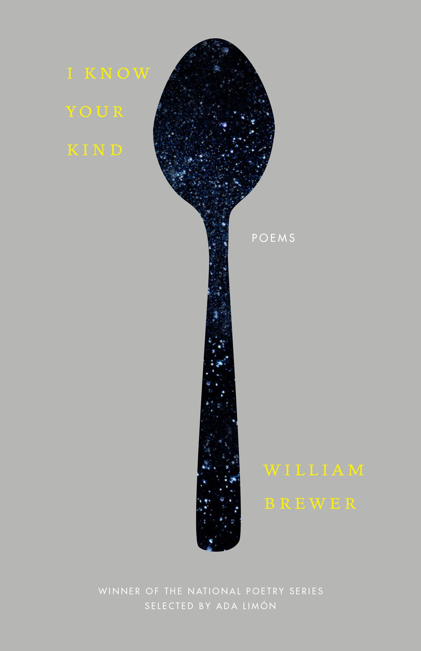 National Poetry Month A Q&A with I Know Your Kind author William