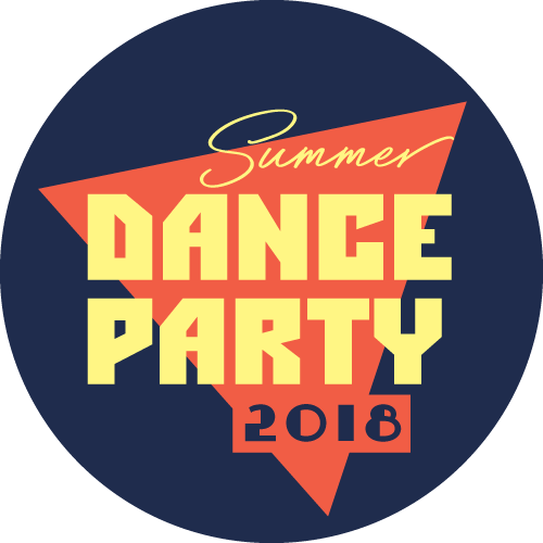 ZYZZYVA Summer Dance Party 2018 circle logo