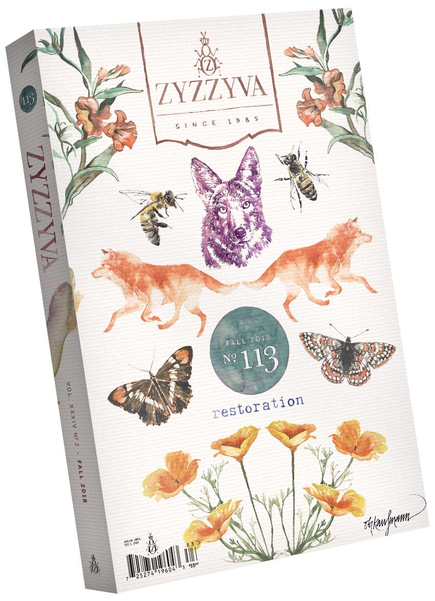 ZYZZYVA Volume 34, #2, Fall 2018