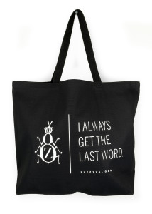 ZYZZYVA Tote Bag, full