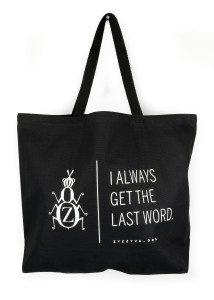 ZYZZYVA Tote Bag, full