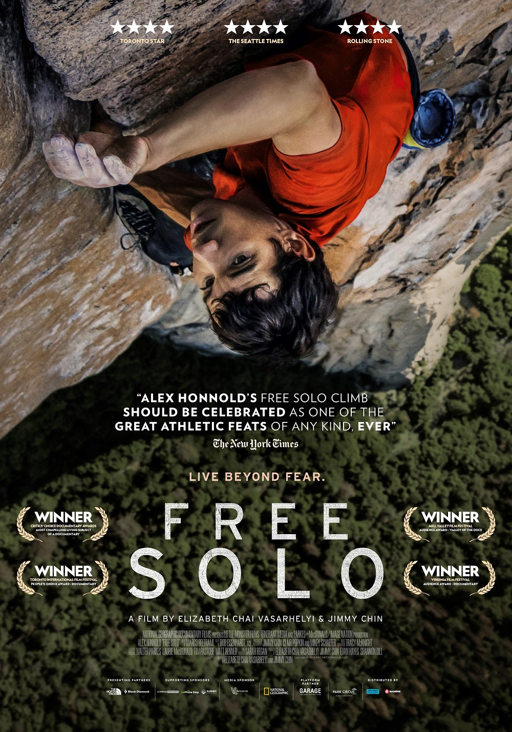 af18546e93d Jimmy Chin and Elizabeth Chai Vasarhelyi documentary Free Solo