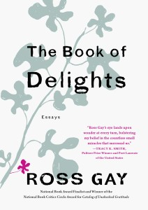 Ross Gay essay collection The Book of Delights