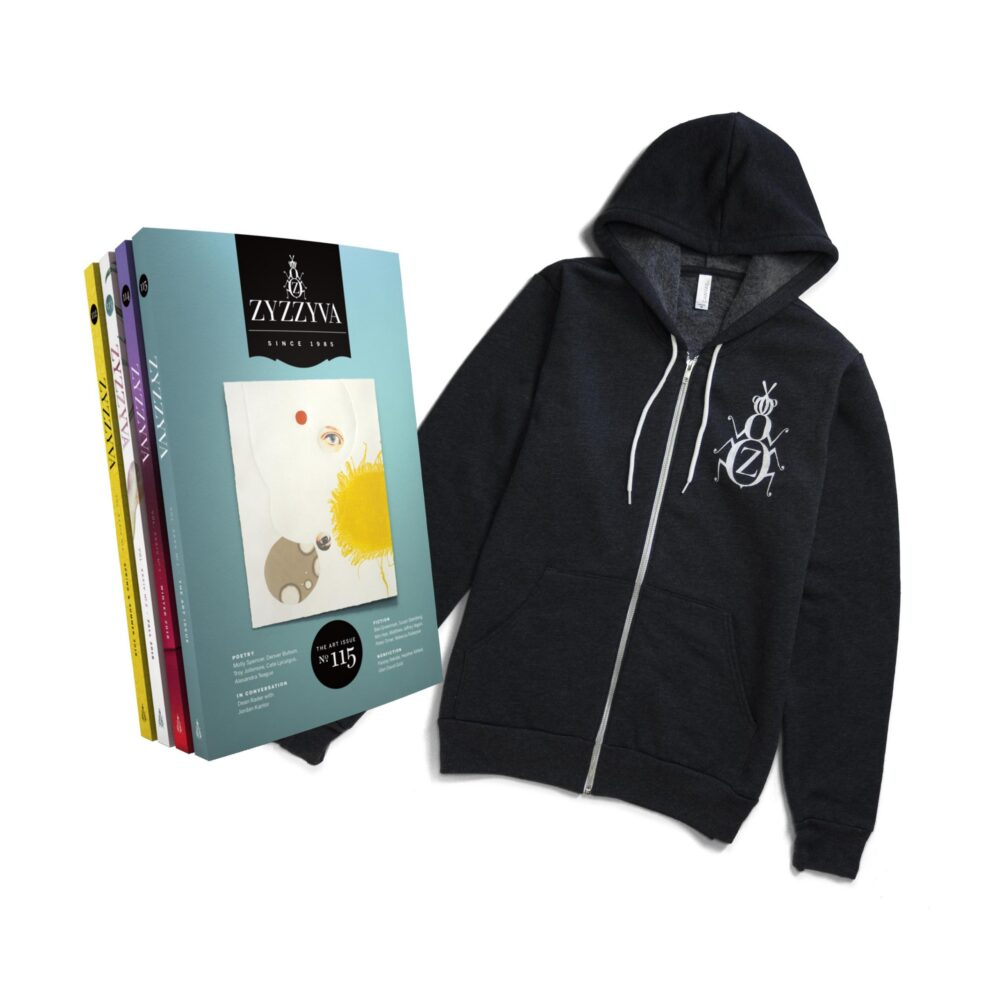 ZYZZYVA Hoodie and Subscription Bundle