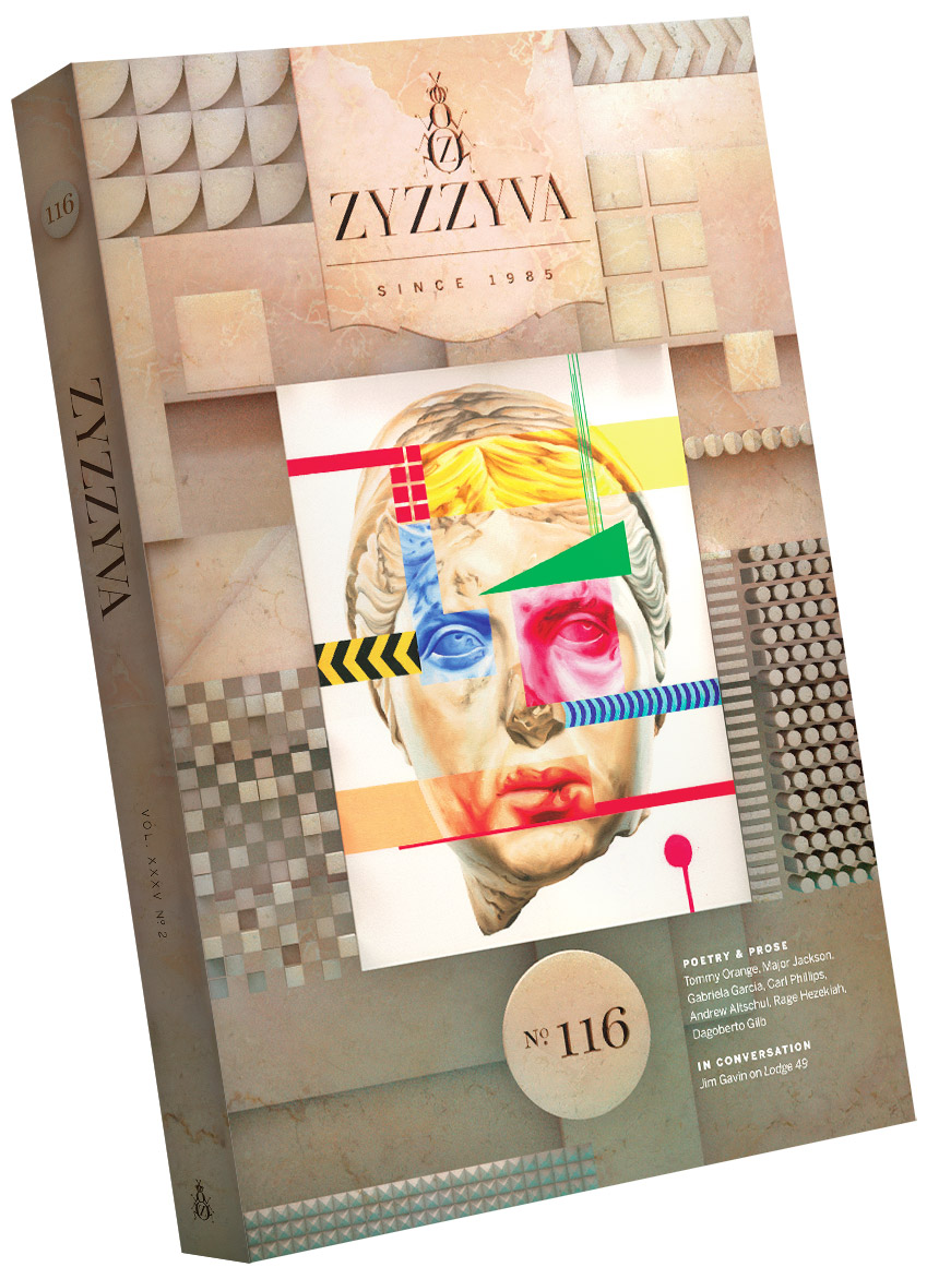 ZYZZYVA Volume 35, #2, Fall 2019