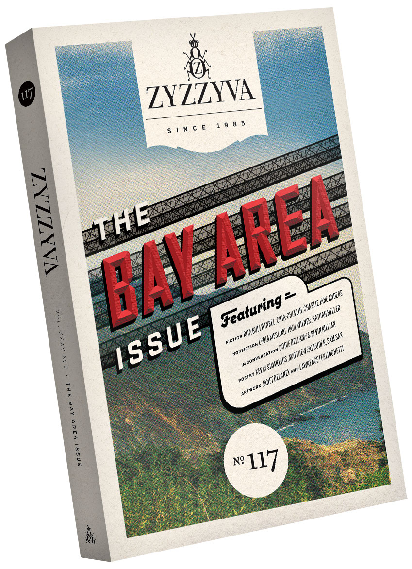ZYZZYVA Volume 35, #3, Winter 2019