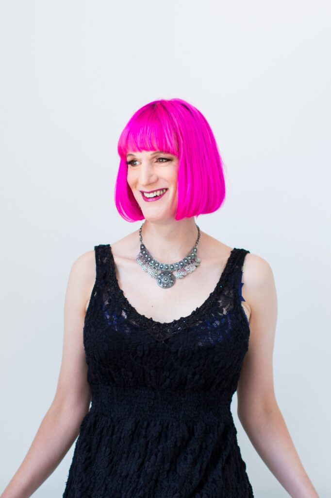 Charlie Jane Anders by Sarah Deragon/Portraits to the People